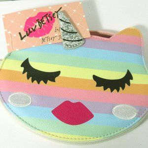 Luv Betsey Johnson Unicorn Face Purse Wristlet